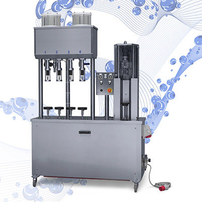 Semiautomatic bottling lines